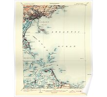 Massachusetts  USGS Historical Topo Map MA Boston Bay 352527 1903 62500 Poster