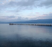 Lake Ohrid, Macedonia by Jo Blunn