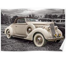 1936 Packard 120 Convertible Coupe Poster