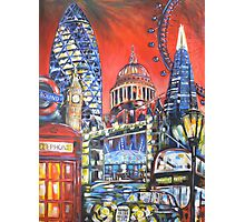 London Attractions Photographic Print