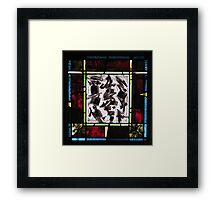 Calligraphic Dance Movement No. 1 Framed Print