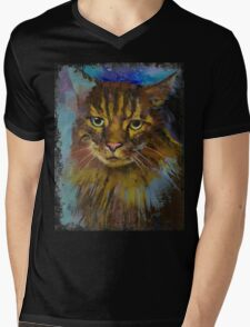 Luna Mens V-Neck T-Shirt