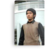 young man Metal Print