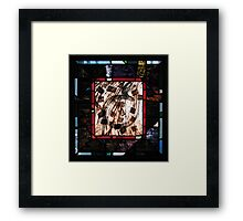 Calligraphic Dance Movement No. 3 Framed Print