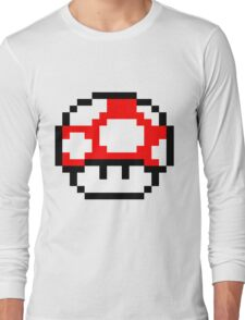 PIXEL - Super mushroom Long Sleeve T-Shirt