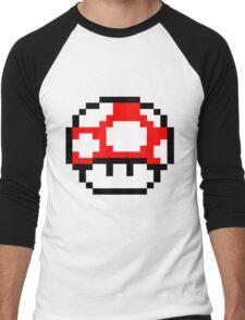 PIXEL - Super mushroom Men's Baseball ¾ T-Shirt