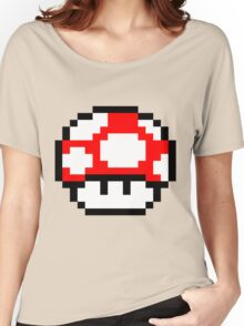 PIXEL - Super mushroom Women's Relaxed Fit T-Shirt