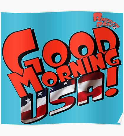 Good Morning USA! Poster