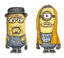 Breaking Bad Minions by rejka
