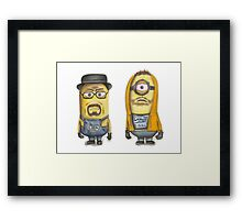 Breaking Bad Minions Framed Print
