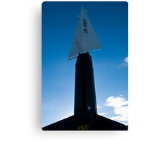 New Mexico Missile Range Canvas Print