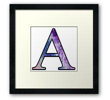 Alpha Galaxy Framed Print