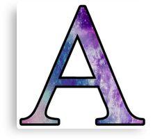 Alpha Galaxy Canvas Print