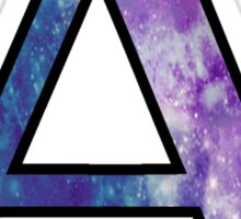 Alpha Galaxy Sticker