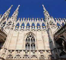 Facade of Milan Duomo by Indrani Ghose