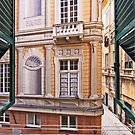 Trompe l'oeil - out of my window by Luisa Fumi