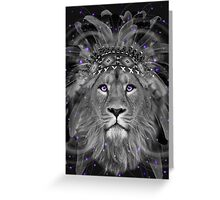 Don't Define Your World (Chief of Dreams: Lion)  Greeting Card