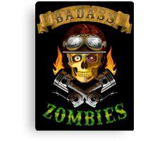 Badass Zombies Canvas Print