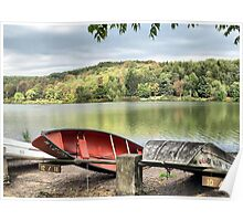 Fall at Frances Slocum Poster