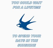 Cardiff City Oasis Lyrics Unisex T-Shirt