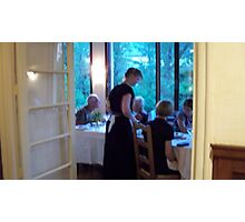 Famous Hotel restaurant Photographic Print