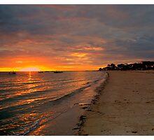 South Australia - Pure Gold - Sunrise Photographic Print