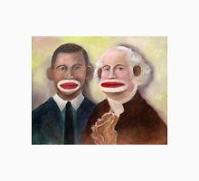 George Washington and Obama as Sock Monkeys Unisex T-Shirt