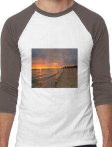 South Australia - Pure Gold - Sunrise Men's Baseball ¾ T-Shirt