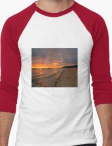 South Australia - Pure Gold - Sunrise Men's Baseball ¾ T-Shirt