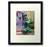 Cactus Goofy Framed Print