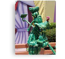 Cactus Goofy Canvas Print