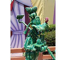Cactus Goofy Photographic Print