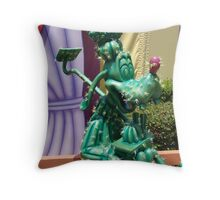 Cactus Goofy Throw Pillow
