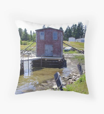 Braced For Any Storm Throw Pillow