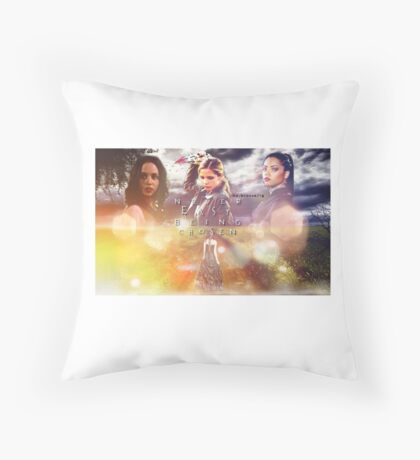 Faith, Buffy, Kendra Throw Pillow
