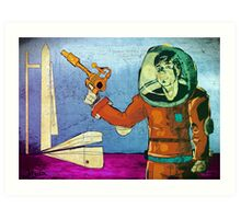 Scifi Adventure Art Print