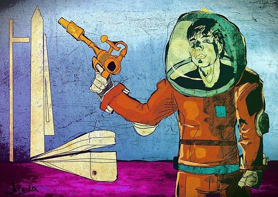 Scifi Adventure by Tepa Lahtinen