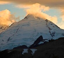Mt. Baker Sunset by Barb White