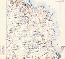 Massachusetts  USGS Historical Topo Map MA Plymouth 352958 1894 62500 by wetdryvac