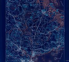 Massachusetts  USGS Historical Topo Map MA Salem 353000 1893 62500 Inverted by wetdryvac