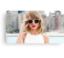 Taylor Swift 1989 Canvas Print