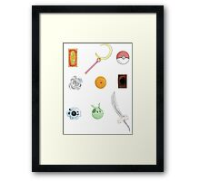 Shows growing up Framed Print
