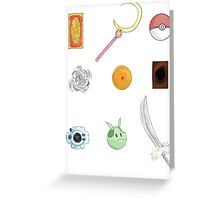 Shows growing up Greeting Card