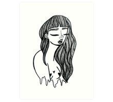 Oh, girl! Art Print