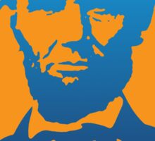 Abraham Lincoln Pop Art Sticker