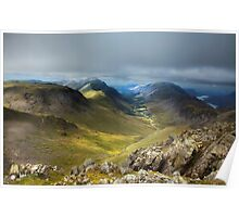 Approaching Great Gable II Poster