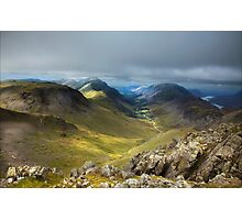 Approaching Great Gable II Photographic Print