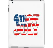 4th of july geek funny nerd iPad Case/Skin