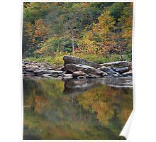 Autumn Reflection Poster