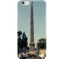 Rome - Obelisk of Piazza del Popolo 2  iPhone Case/Skin